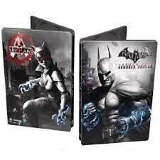 XBOX 360 Steelbook BATMAN Arkam City Armoured Edition format DVD neuf