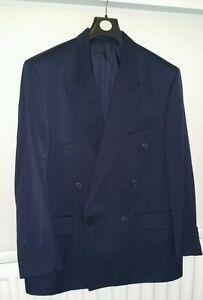 a0fa8bc8742 MEN'S YSL YVES SAINT LAURENT Navy Blue Dinner Jacket 50R | eBay