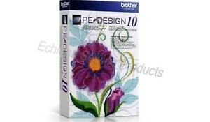 Brother Pe Design 10 Full Version Software Free Gifts Email Download Only Ebay