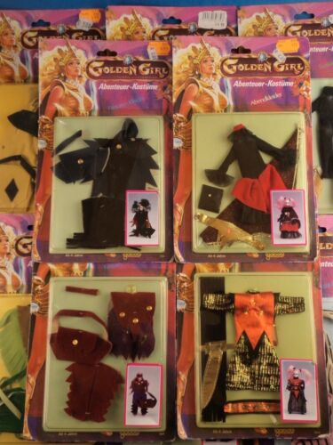 1984 Galoob Golden Girl Figure Carded Outfits Multi-Listing Choose You Own!