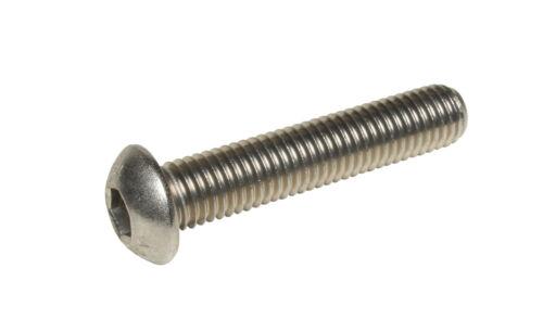 M5 x 10 Stainless Hex Socket Button Head Allen Bolts Screws ISO 7380 10PK