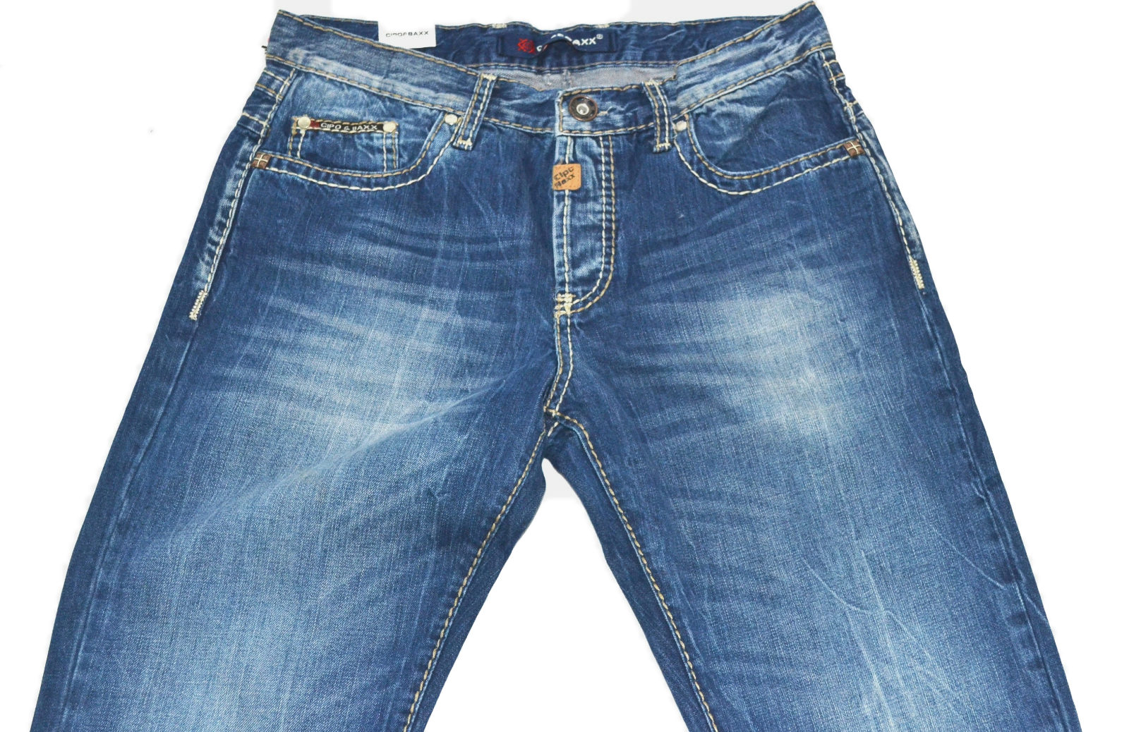 Cipo & Baxx Herrren JEANS CLASSICO C 688 must have worn out look