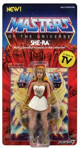 Super7 Masters of the Universe MOTU  Vintage She-ra 5.5 inch Action Figure NEW