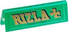 20x Rizla Verde Cartine Per Rollare Sigarette Libretti - Regolare Misura
