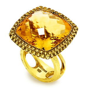 Alex-Soldier-Honey-Citrine-Royal-Ring-in-18kt-Textured-Yellow-Gold-28-05ctw