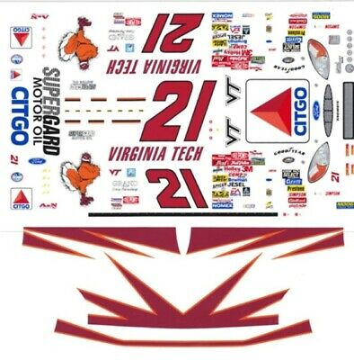 HO Scale Slot Car Decals #88 Kevin Lepage Hype Racing 1//64th
