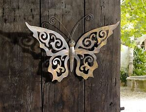 Metal-Butterfly-Wall-Decor-Black-Metal-Butterfly-Wall-Art-with-Ornate-Wings