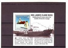 a114 - BRITISH ANTARCTIC TERR - SGMS544 MNH 2011 RRS JAMES CLARK ROSS & PENGUIN