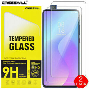 For-Xiaomi-Redmi-K20-K20-Pro-Clear-HD-Tempered-Glass-Screen-Protector-2-Pack