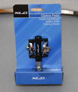 """New Shimano XLC  SPD  Clipless Pedals 9/16"""" Double Fits"""