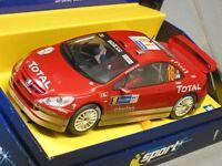 Scalextric 1/32 Peugeot 307 Wrc Works 2004 16 Slotcar Racing Car C2561a