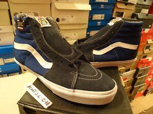 NEW VANS Syndicate Sk8-Hi PRO S X NOS Navy Blue Suede SZ 13 Supreme ... da5fde103