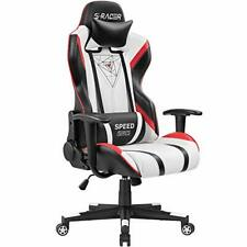 Gaming Chair Racing Office High Back Pu Leather Computer Desk Executive Chair