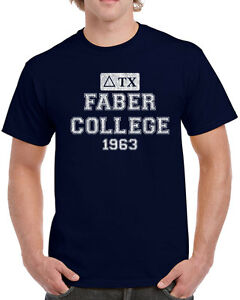 590-Faber-College-mens-T-shirt-funny-pop-culture-costume-frat-party-college-new