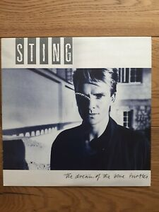 Sting-The-Dream-Of-The-Blue-Turtles-A-amp-M-Records-DREAM-1-Vinyl-LP-Album
