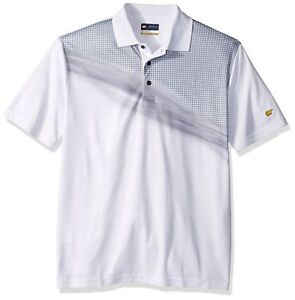 Jack-Nicklaus-Men-039-s-Short-Sleeve-Asymmetrical-Illumiation-Print-Sizes-S-M-L-XL