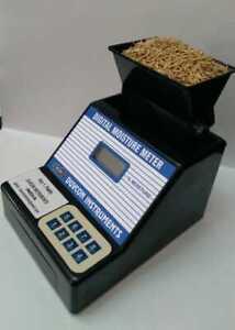DUVCON Portable Grain Digital Moisture Meter for Paddy Free Shiping