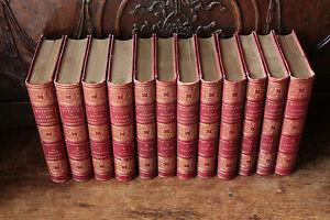 Oeuvres-completes-de-buffon-12-tomes-vers-1853-par-M-FLOURENS