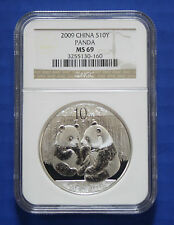 CHINA - 2009 China S10Y Silver Panda (NGC MS69)