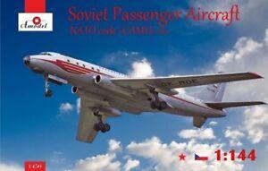 Amodel-1-144-Tupolev-Tu-104a-Sovietique-Passager-Aircraft-Nato-Code-034-Camel-A-034