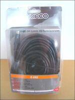 2 X Vivanco 15 Meter / 15m Hochwertiges S-vhs Cable Kabel, Schwarz, Neuware