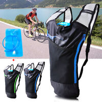 5l Bike Bicycle Hydration Pack Backpack + 2l Water Bag Camelbak Cycle Hiking