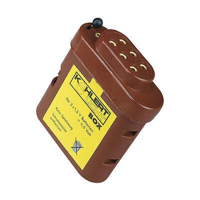 Kahlert 60897 Batteriebox mit Verteiler in Kappe für 3x1,5 Volt    NEU//OVP