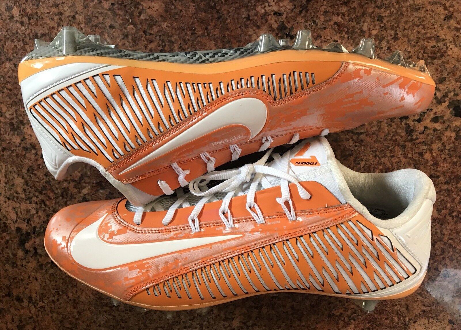 Nike vapor - stollenschuhe fußball 2.0 elite nikeid stollenschuhe - orange / weiß mens sz 14,5 080707