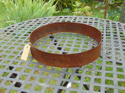 24+18 cm Metall Rostkugel rostig Edelrost Standring D 15 cm für Kugeln mit D