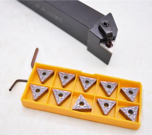 MTJNL2525M16 Lathe Turning Tool holder 10pcs TNMG160408-MA TNMG332-MA VP15TF