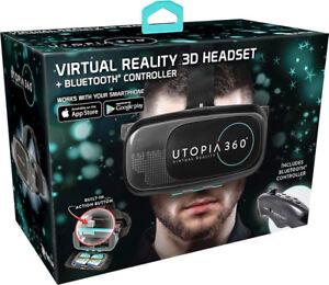 ReTrak-Utopia-360-Virtuale-Reality-Cuffie-con-Bluetooth-Controller