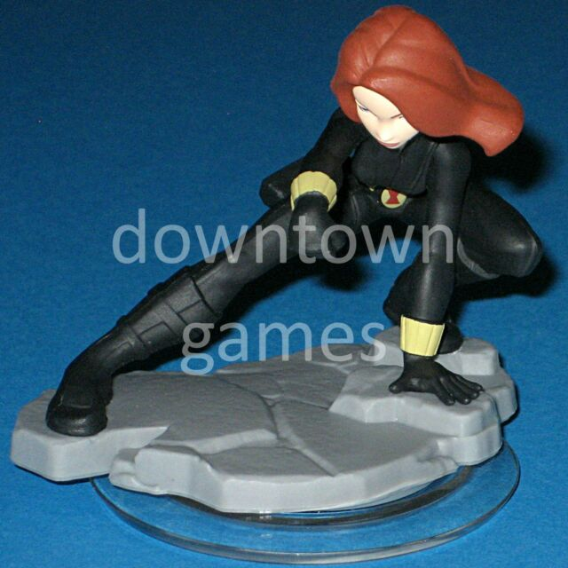 BLACK WIDOW Disney Infinity 2.0 Marvel Super Heroes AVENGERS figure SHIPS FAST