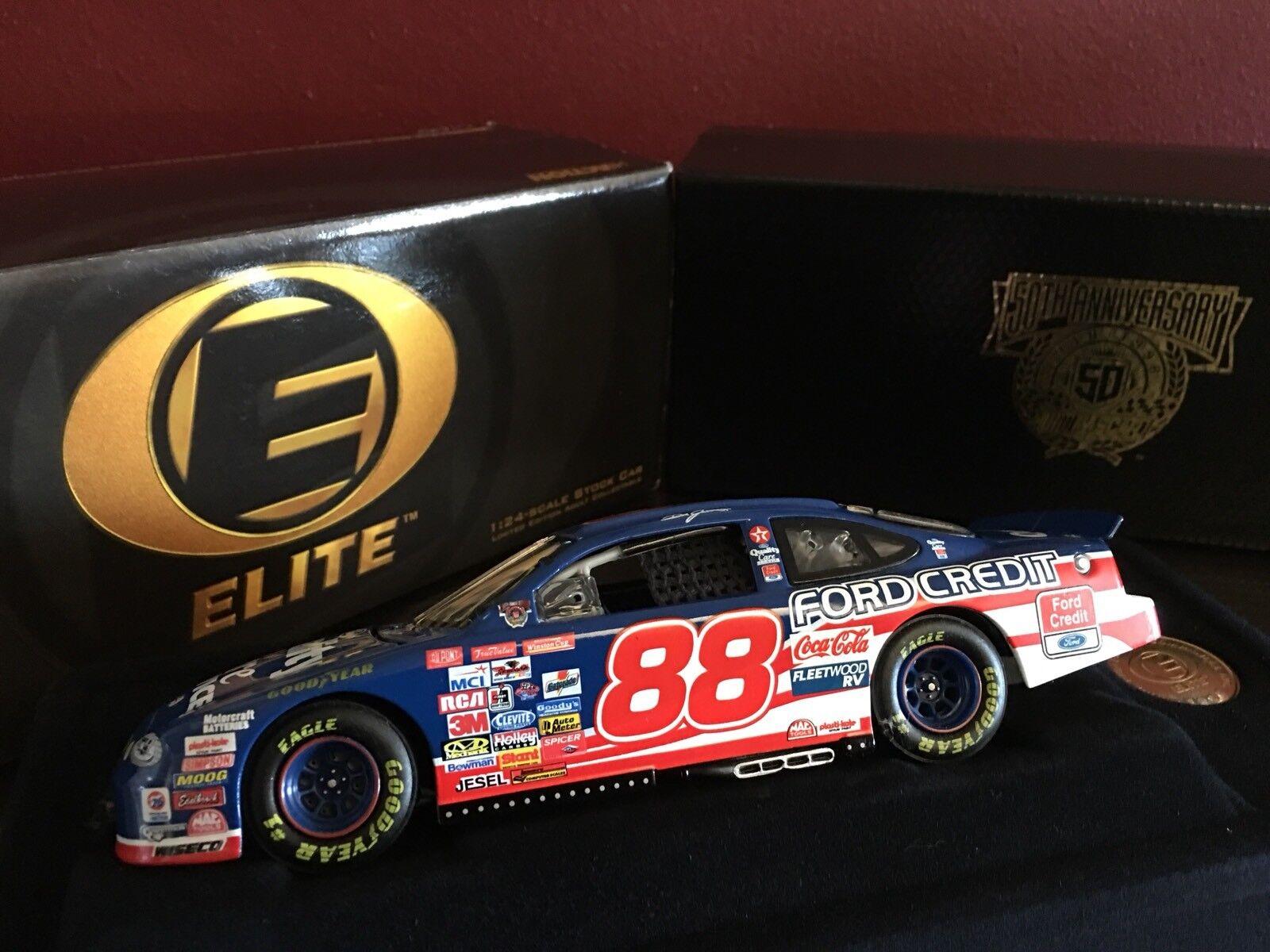 Acción Elite  88 Dale Jarrett NasCoche 50th aniversario 1998 Ford Taurus