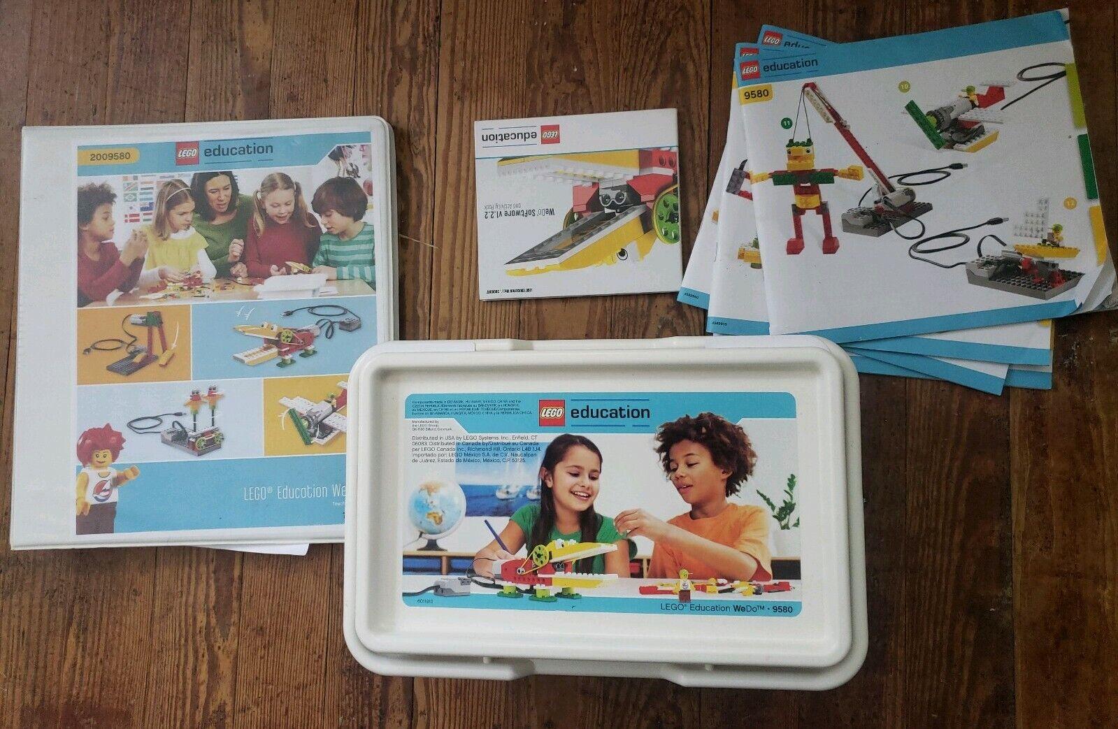 LEGO  Education WeDo Set 9580 Teachers uomoual Software e uomouals  risparmia fino al 30-50% di sconto