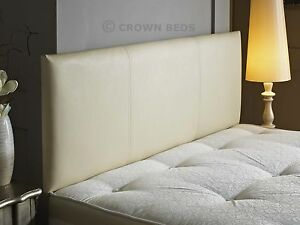 Image Is Loading Faux Leather Headboard 2ft6 3ft 4ft 4ft6 5ft