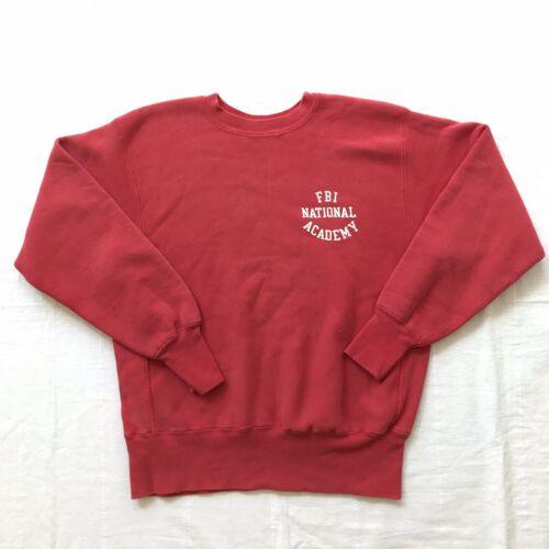 70s Champion reverse weave FBI academy sweatshirt