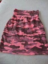 Victoria's Secret Love Pink pink camo short skirt elastic waist XS