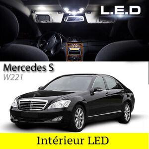 Kit-complet-ampoules-a-LED-pour-l-039-eclairage-interieur-Mercedes-Classe-S-w221