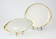 2pc Rosenthal Bavaria Donatello Porcelain Oval Dish and Vegetable Tray / Dish.