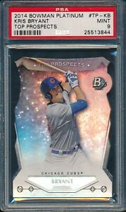 2014-Bowman-Platinum-Top-Prospects-Baseball-Kris-Bryant-R-TP-KB-PSA-9-CUBS-MT