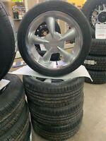 "17"" 5-100 / 5-110 Aluminum Wheel & Tire Package 225/45R17 Hamilton Ontario Preview"
