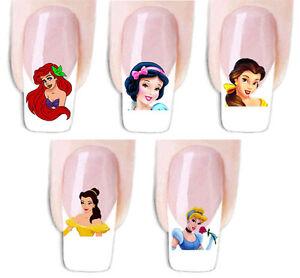 Wraps Prinzessin Fingernagel Nail Art Tattoo Sticker Decal
