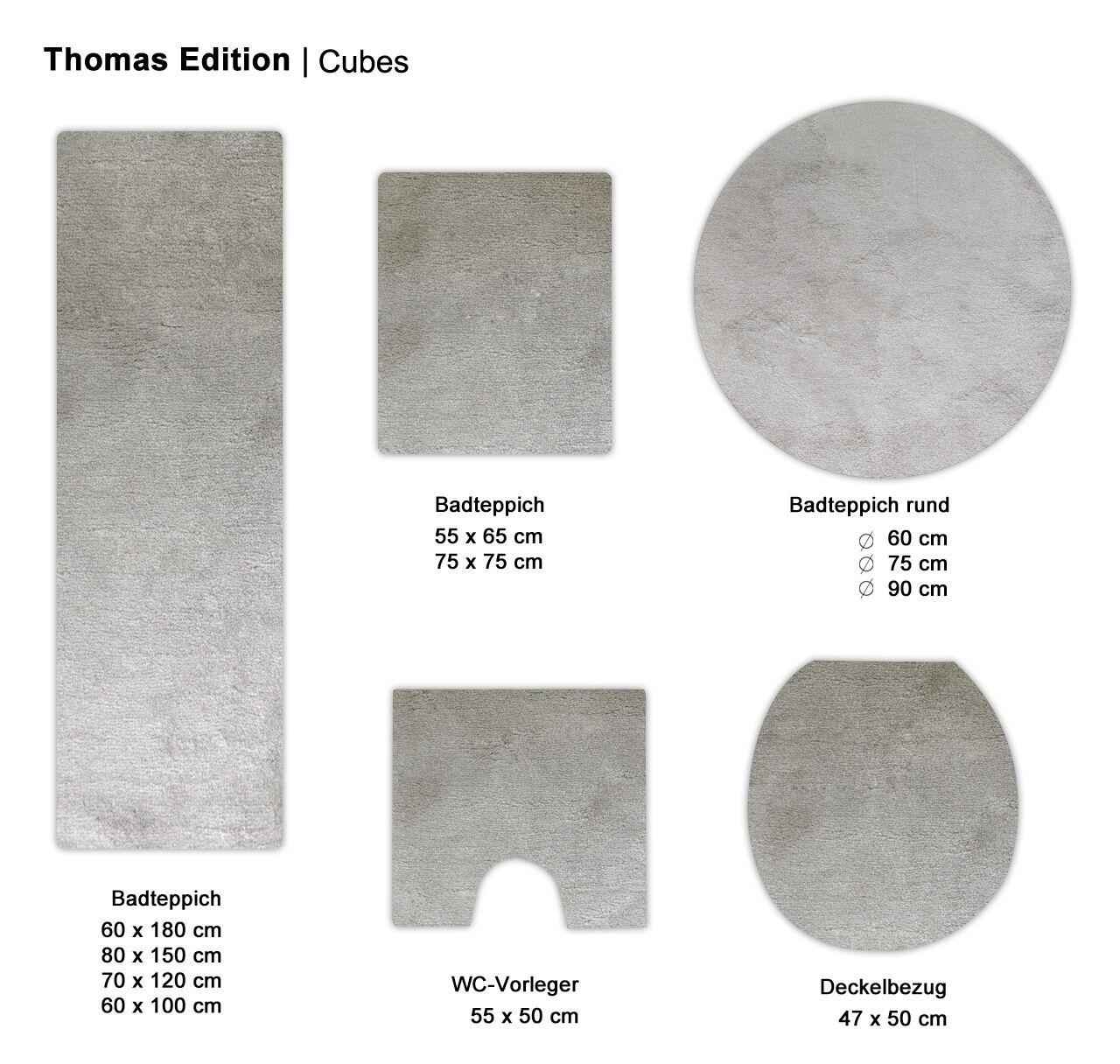 Thomas Badteppich Melange (MT-2356-52)   taupe   Starke Hitze- Hitze- Hitze- und Abnutzungsbeständigkeit  461fee