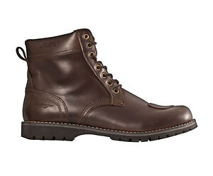 RST-Mens-Roadster-Leather-Laceup-Riding-Boots-Brown-Motorcycle-Street-Road-Cla