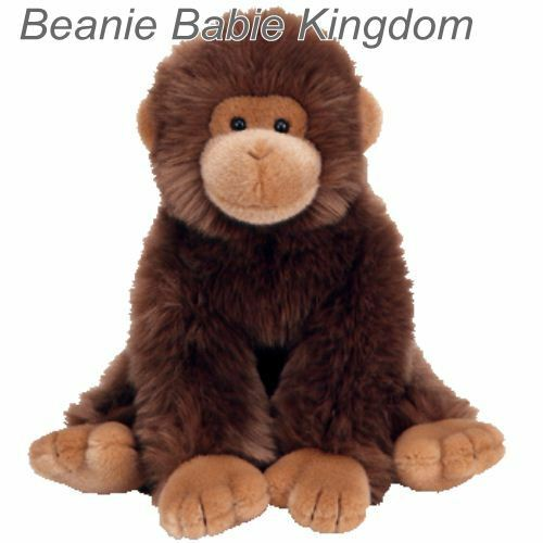 TY Classic     Plush  TOPANGA  The Brown Gorilla Monkey 10  Sitting 7da0bb