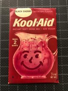 VINTAGE 1960's KOOL-AID FULL PACK Sealed BLACK CHERRY old stock SPECIAL OFFER !!