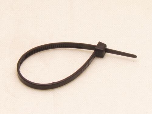 """100 X pcs Black 8/"""" Tie Cord Strap 200mm Network Nylon Plastic Cable Wire Zip"""