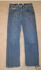 Diesel Jeans Womens Mens Size Sz 31 Wash Skinny Low Rise Stretch Blue Cut 28 In