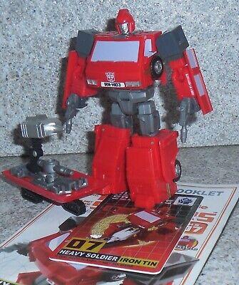 Mech Planet HS-07 Heavy Soldier Iron Tin aka Transformers Ironhide