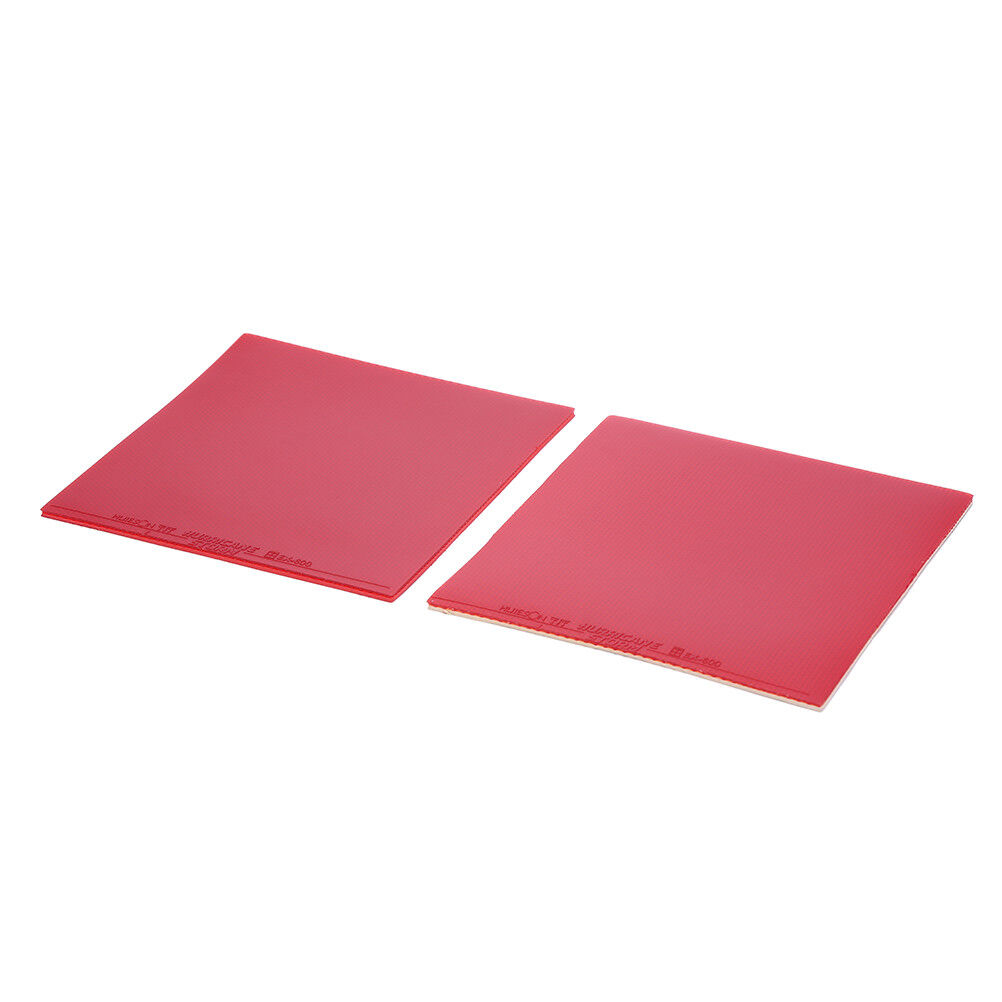 Rubber Pips-in Table Tennis Racket Sponge For Ping Pong Paddle Red// Black